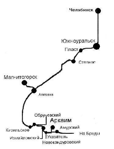 4. Самостоятельно - автомобильным транспортом.  Автобус Джетыгара-Магнитогорск.  Поезд 616 Магнитогорск-Челябинск...